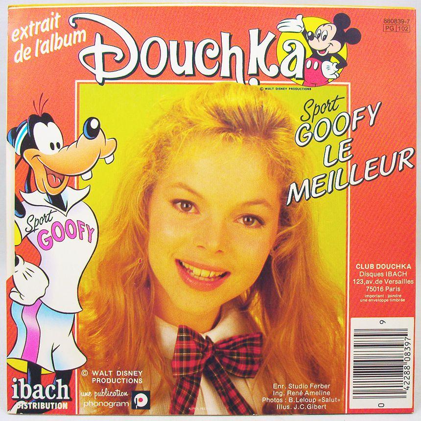 Douchka - Vinyl Record - Zorro & Sport Goofy - Walt Disney Prod. 1985