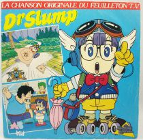 Dr Slump - Disque 45Tours - Bande Originale du feuilleton Tv - AB Kid 1988