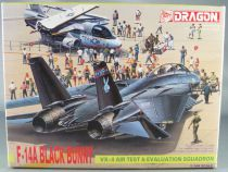 Dragon Models - N°4547 Avion F-14 A Black Bunny VX-4 Air Test Evaluation 1/144 Air Superiority Series
