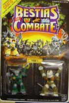 Dragonautes (Battle Beasts) - #10 Roamin\' Buffalo & #15 Gruesome Gator