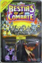Dragonautes (Battle Beasts) - #27 Webslinger Spider & #28 Crusty Crab