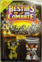 Dragonautes (Battle Beasts) - #9 Rocky Rhino & #16 Sly Fox
