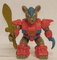 Dragonautes (Battle Beasts) - N°38 Powerhouse Mouse (loose avec arme)