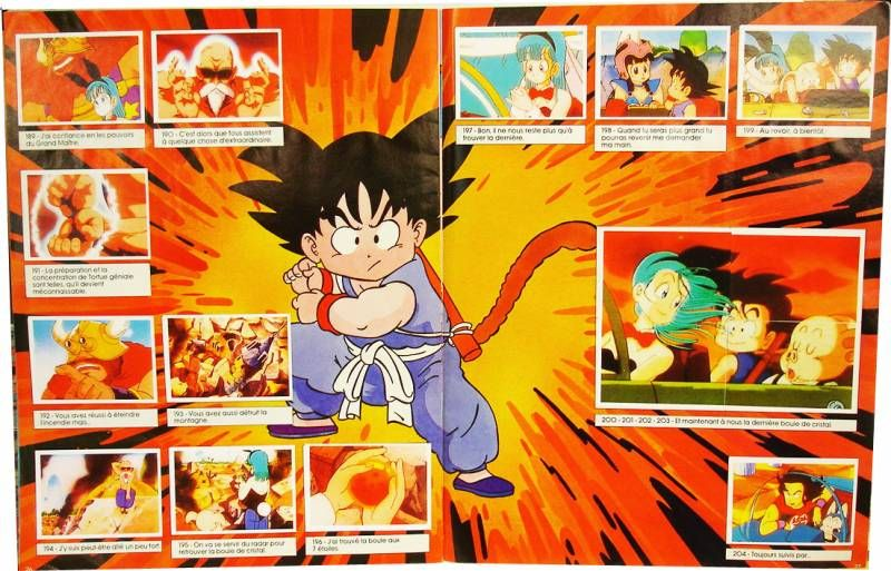 Dragonball - Album Collecteur de vignettes (complet) - SFC