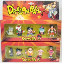 Dragonball - Bandai France 1986 - Set of 2 PVC figures boxed sets