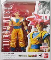 "Dragonball - Bandai S.H.Figuarts - Son Gokou \""Super Saiyan God\"""