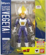 """Dragonball - Bandai S.H.Figuarts - Vegeta \""""Super Saiyan - Premium Color Edition\"""""""