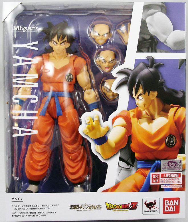 Figuarts Yamcha Dragon Ball Z Action Figure Bandai S.H