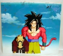 Dragonball GT - Toei Animation Original Celluloid - SS4 Goku & Mr. Satan