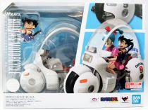 Dragonball Z - Bandai S.H.Figuarts - Bulma\'s Motorcycle Capsule n°9