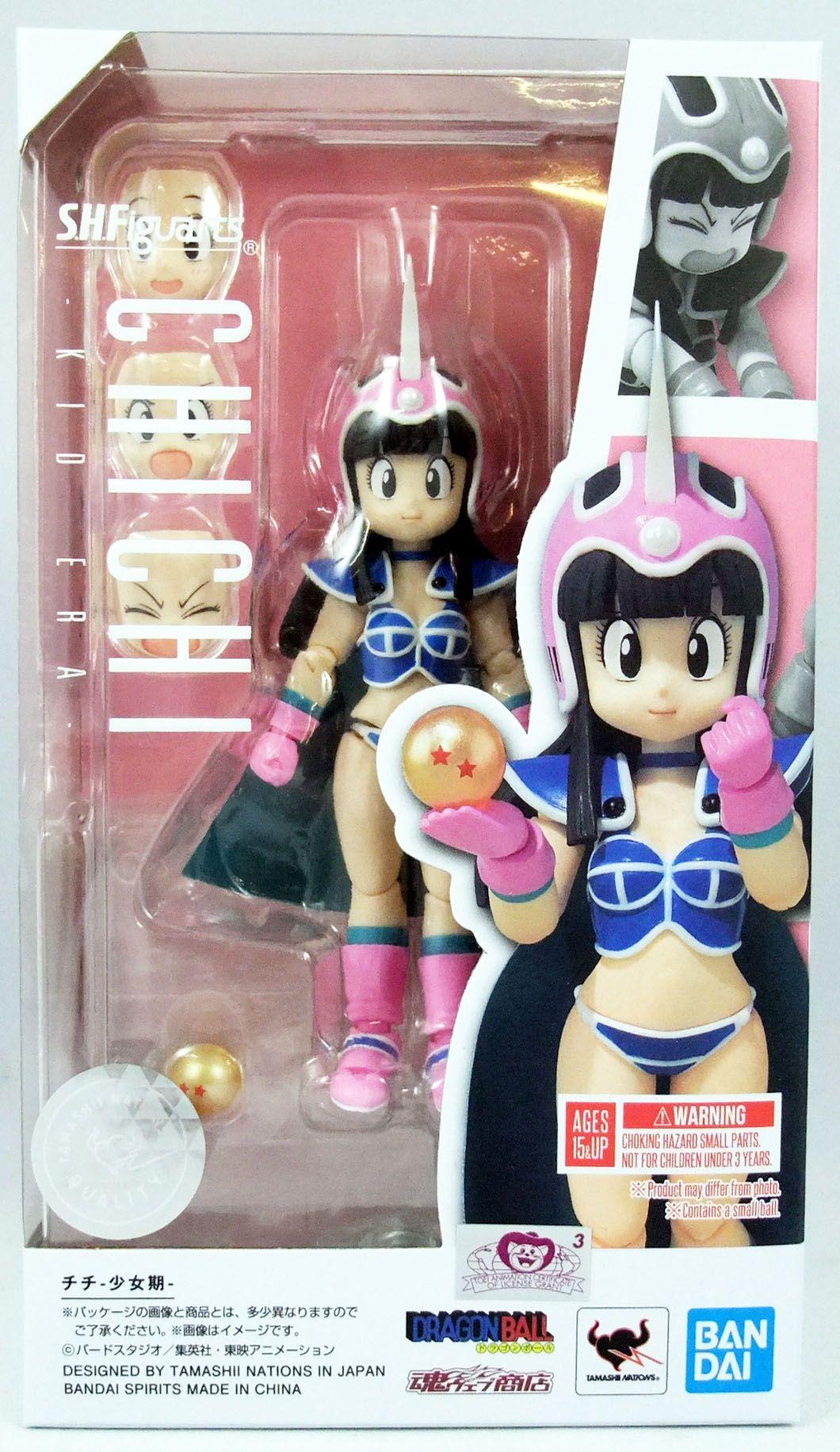 "Dragonball Z - Bandai S.H.Figuarts - Chichi \""kid era\"""