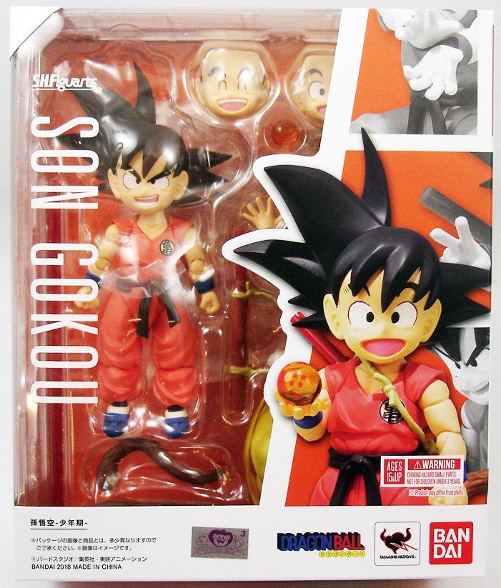 "Dragonball Z - Bandai S.H.Figuarts - Son Goku \""enfant\"""