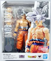 "Dragonball Z - Bandai S.H.Figuarts - Son Goku \""Ultra Instinct\"""