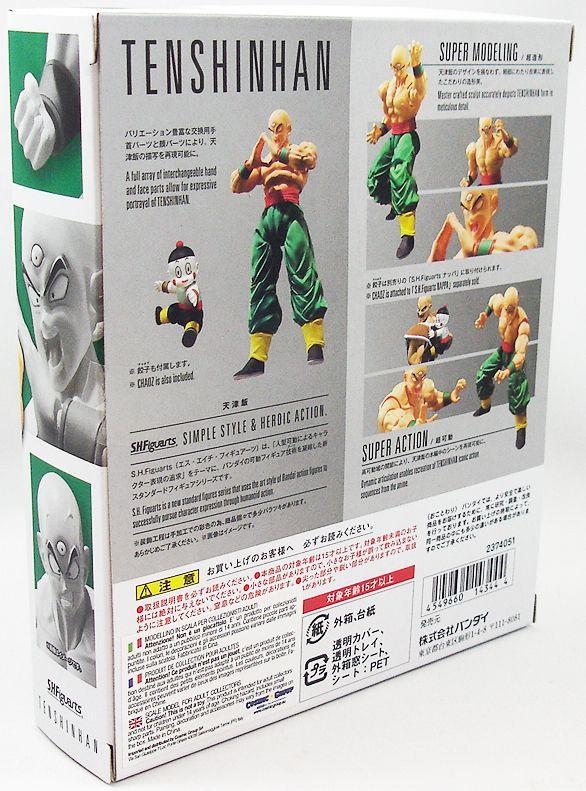 Dragonball Z - Bandai S.H.Figuarts - Tenshinhan & Chaoz