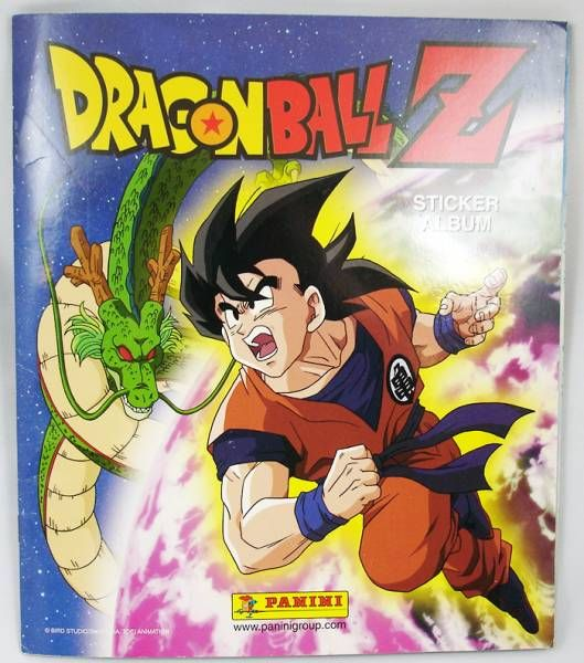 Dragonball Z - Panini Stickers collector book + extra sticker packs