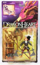 DragonHeart - Kenner - Kara with Axe-Chopping Combat Cart