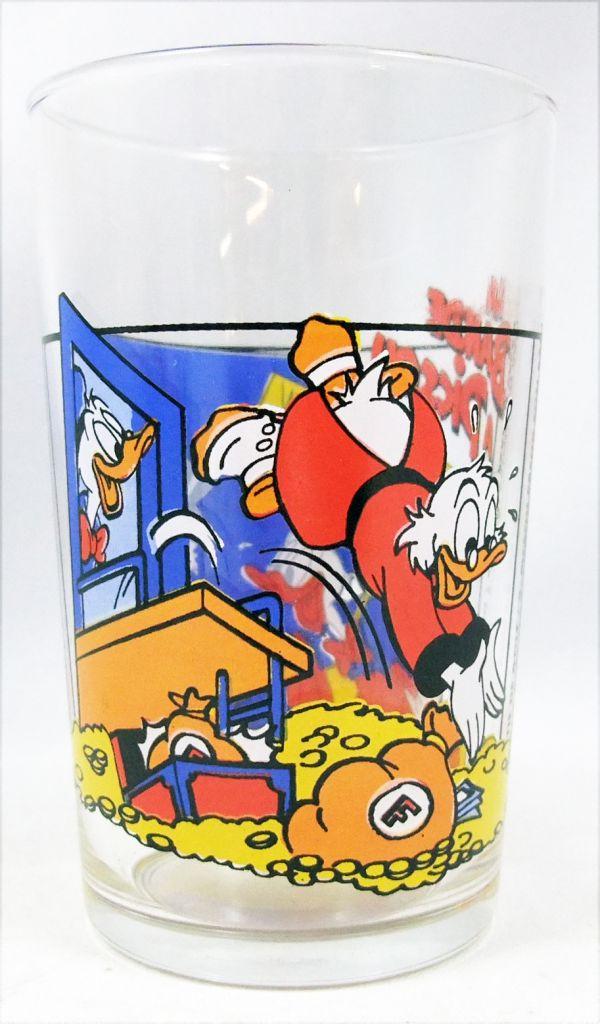 Duck Tales - Ducros mustard glass - N°2 Uncle Scrooge takes a bath