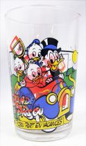 Duck Tales - Ducros mustard glass - N°4 Uncle Scrooge go on vacation