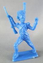 Dulcop - Figurine Plastique Souple 55mm - Empire - Grenadier brandissant fusil (bleu)