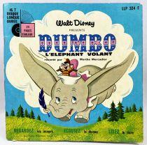 Dumbo - Livre-Disque 45T - Disneyland Record 1974