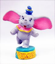 Dumbo l\'éléphant - Figurine pvc Bully - Dumbo au cirque