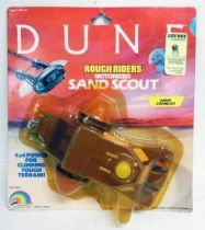 DUNE - LJN Vehicle - Rough Riders Sand Crawler (Mint on card)