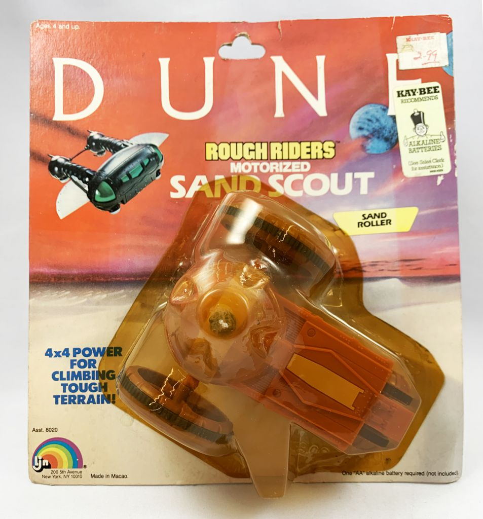 DUNE - LJN Véhicule - Rough Riders Sand Roller (neuf en blister)