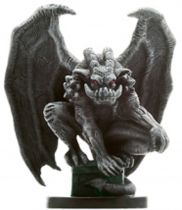 Dungeons & Dragons (D&D) Miniatures (Blood War) - Wizards - Earth Element Gargoyle