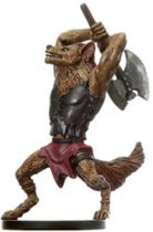 Dungeons & Dragons (D&D) Miniatures (Blood War) - Wizards - Gnoll Barbarian