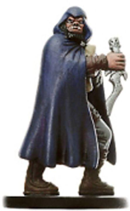 Dungeons & Dragons (D&D) Miniatures (Blood War) - Wizards - Half-Orc Spy
