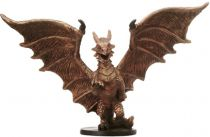 Dungeons & Dragons (D&D) Miniatures (Blood War) - Wizards - Medium Copper Dragon