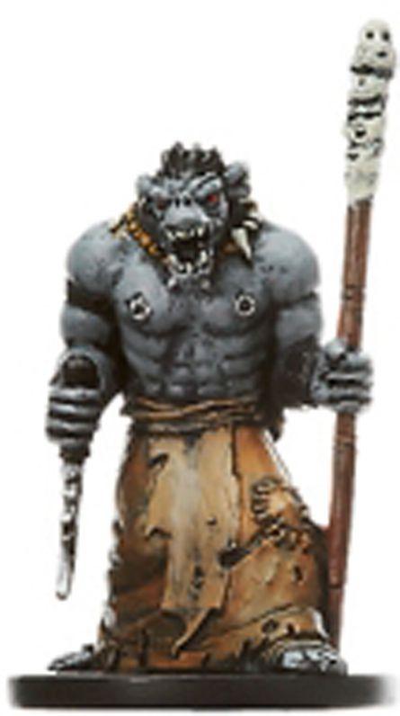 Dungeons & Dragons (D&D) Miniatures (Blood War) - Wizards - Orc Wizard