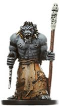 Dungeons & Dragons (D&D) Miniatures (Blood War) - Wizards - Orc Wizard