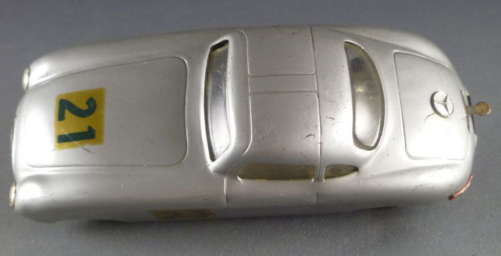 Dux Mercedes 300 SL N° 21 Tin Clocwork Wind-up