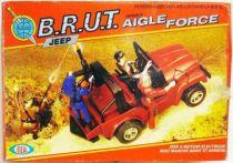Eagle Force - B.R.U.T. Jeep - Mego-Ideal