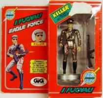 Eagle Force - Shock Trooper - Mego-GIG