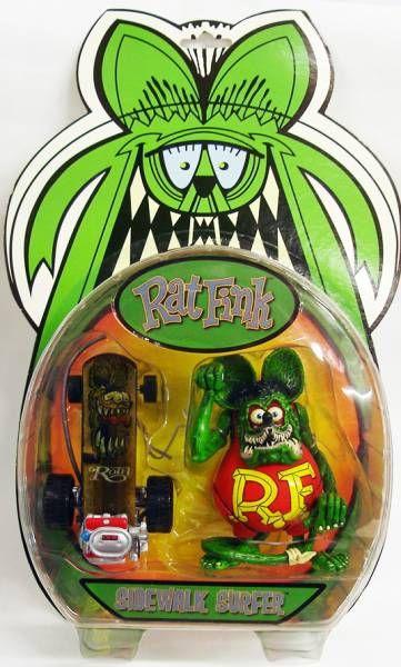Ed \'\'Big Daddy\'\' Roth - Rat Fink Sidewalk Surfer (red)
