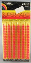 Edison Giocattoli 312 Supermatic Firecracker Caps 4 Cards with 6 Strips x 13 Shots