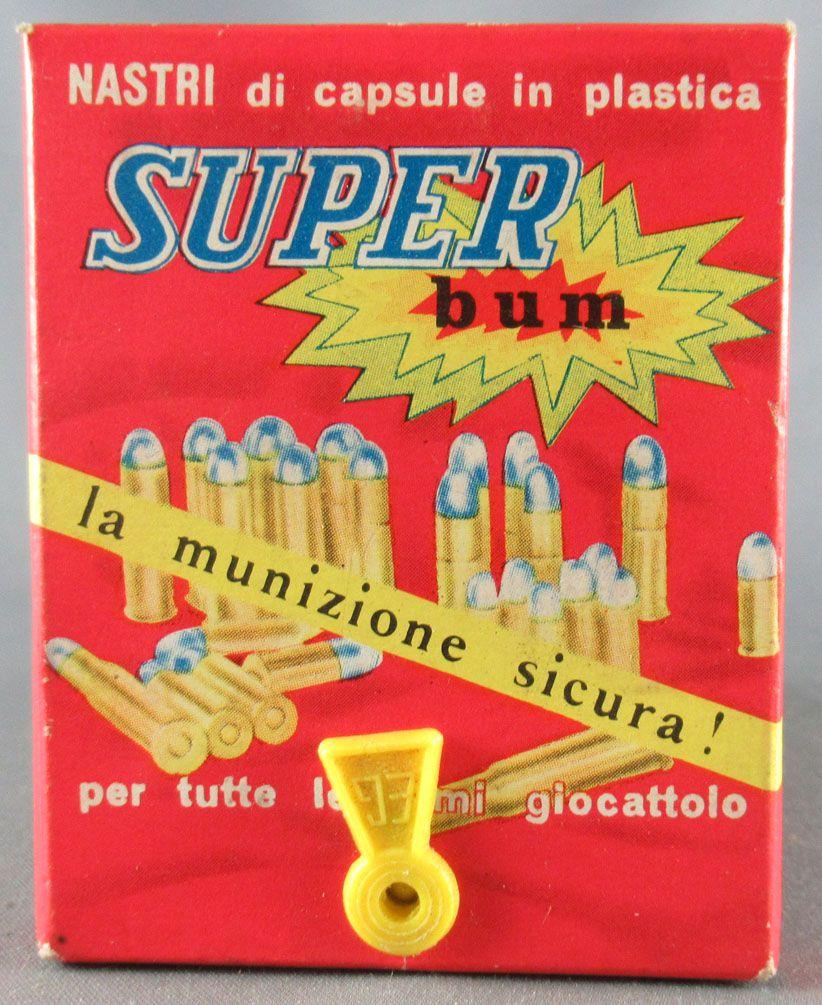 Edison Giocattoli 320 Amorces Super Bum 4 Boites Neuves 10 x 8 coups