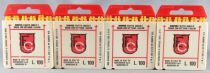 Edison Giocattoli 384 Super Bum Special Firecracker Caps 4 Boxes with 12 Strips x 8 Shots