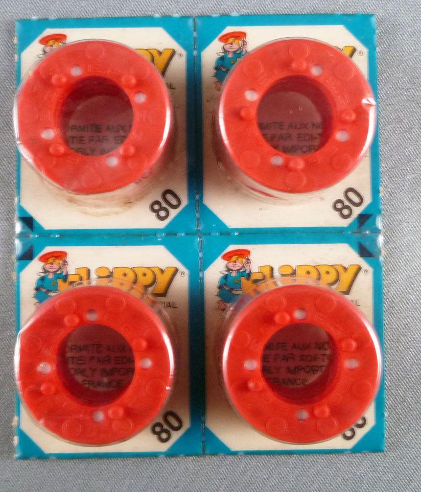 Edison Giocattoli 4 x 80 Amorces Flippy soit 4 Plaquettes de 5 x 8 + 8 coups Neuf Blister