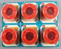 Edison Giocattoli 6 x 80 Flippy Firecracker 6 Cards with 5 Rings x 8 + 8 Shots