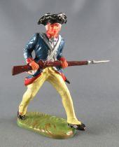 Elastolin - Guerre d\'Indépendance - Prussien - Piéton Barrant avec Fusil (réf 9162)