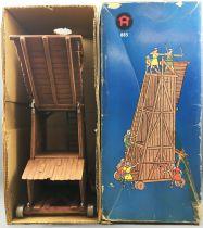 Elastolin - Moyen-âge - Accessoires - Tour de siège neuve en boite (réf 9885)