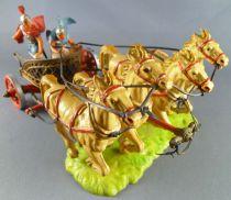 Elastolin - Romains - Char de guerre Quadrige occasion (réf 9864)