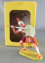 Elastolin - Romains - Piéton combattant défendant javelot (réf 8422) en Boite