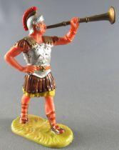 Elastolin - Romains - Piéton Défilant Trompette (réf 8404)