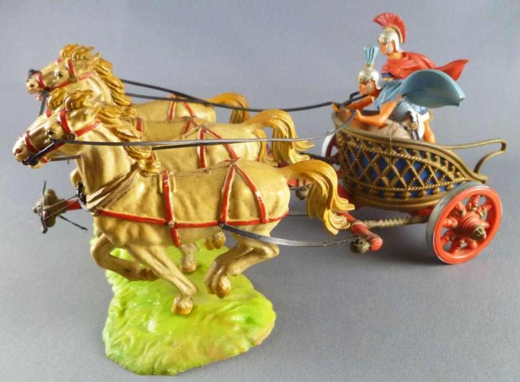 Elastolin - Romans - War Chariot Quadrugia (ref 98642)