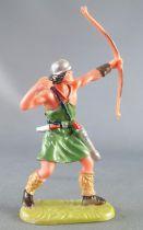 Elastolin - Viking - Piéton Archer tirant vers le haut (réf 8644)