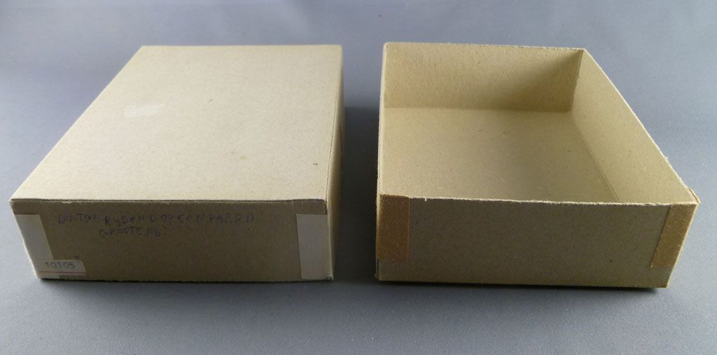 Elastolin - WW2 - Germans - Empty box for 1 mounted officer ref 10 105